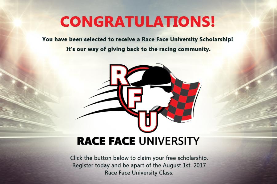 Raceface-Scholarship
